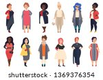 vector beautiful and stylish... | Shutterstock .eps vector #1369376354