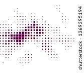 dark pink vector backdrop with... | Shutterstock .eps vector #1369395194
