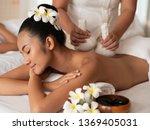 beautiful young asian woman... | Shutterstock . vector #1369405031