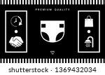 nappy icon symbol. graphic... | Shutterstock .eps vector #1369432034