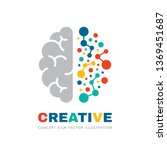 creative idea   business vector ... | Shutterstock .eps vector #1369451687