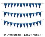color gradient flags garland... | Shutterstock .eps vector #1369470584