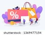 discount and loyalty card ... | Shutterstock .eps vector #1369477154