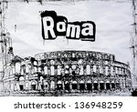 view of the colosseum...