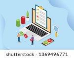 online survey technology...   Shutterstock .eps vector #1369496771