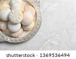dish of traditional cookies for ... | Shutterstock . vector #1369536494