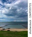 overcast skies over cronulla... | Shutterstock . vector #1369555721