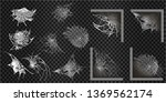 collection of cobweb  isolated... | Shutterstock .eps vector #1369562174