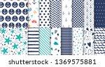 set of marine and nautical...   Shutterstock .eps vector #1369575881