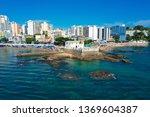 aerial view of porto da barra... | Shutterstock . vector #1369604387
