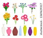 bouquet maker   different...   Shutterstock .eps vector #1369629317