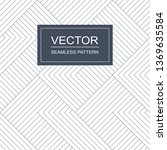 seamless pattern with blue... | Shutterstock .eps vector #1369635584