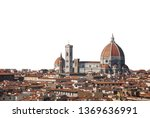 Stock photo cityscape of florence with cathedral formally the cattedrale di santa maria del fiore or duomo di 1369636991