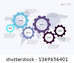 vector info graphics for your... | Shutterstock .eps vector #1369656401