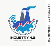 industry 4.0 concept business... | Shutterstock .eps vector #1369661954