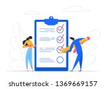 businessman character mark... | Shutterstock .eps vector #1369669157