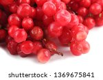 schisandra chinensis isolated... | Shutterstock . vector #1369675841