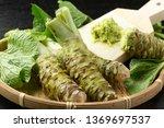 Japanese Horseradish. Wasabi