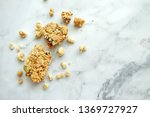 close up of cereal bar on white ... | Shutterstock . vector #1369727927