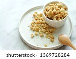 close up of cereal on white... | Shutterstock . vector #1369728284