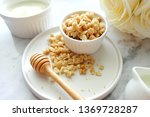 close up of cereal on white... | Shutterstock . vector #1369728287