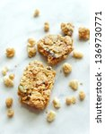 close up of cereal bar on white ... | Shutterstock . vector #1369730771