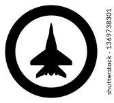 fighter plane military fighter...   Shutterstock .eps vector #1369738301