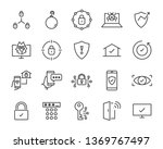 Set Of Security Icons  Such As...