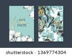 set of elegant  chic brochure ... | Shutterstock .eps vector #1369774304