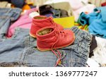 used red shoes for children in...   Shutterstock . vector #1369777247