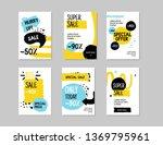 modern sale banner template set....   Shutterstock .eps vector #1369795961