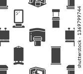 advertising exhibition banner... | Shutterstock .eps vector #1369799744