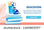 educational institution... | Shutterstock .eps vector #1369805597