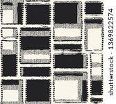monochrome broken variegated... | Shutterstock .eps vector #1369822574