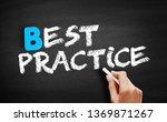 best practice text on...   Shutterstock . vector #1369871267