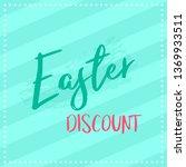 easter poster background | Shutterstock .eps vector #1369933511