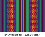 vector seamless pattern in... | Shutterstock .eps vector #136994864