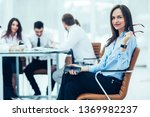 leading lawyer of the company... | Shutterstock . vector #1369982237