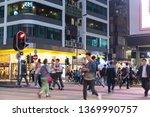 mong kok hong kong    march 19  ...   Shutterstock . vector #1369990757