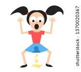 incontinence   involuntary... | Shutterstock .eps vector #1370020367