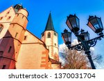 the town church  built between... | Shutterstock . vector #1370031704