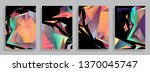 template brochures  flyers ...   Shutterstock .eps vector #1370045747