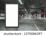digital media blank white... | Shutterstock . vector #1370086397
