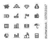 finance icons | Shutterstock .eps vector #137013167