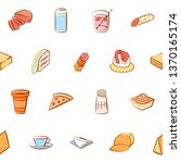 food images. background for... | Shutterstock .eps vector #1370165174