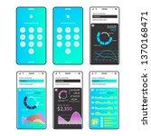 mobile app infographics...