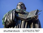Martin Luther Monument With...