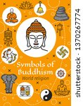 buddhism religious symbols...   Shutterstock .eps vector #1370267774