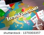 trevi fountain city travel and... | Shutterstock . vector #1370303357
