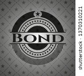 bond dark emblem | Shutterstock .eps vector #1370310221